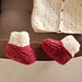 Strawberry Seed Baby Booties pattern