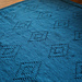 Diamond blanket pattern