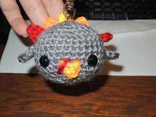 Free Amigurumi Ladybug Keychain Crochet Pattern | Keychain ... | 240x320