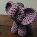 Elephant Christmas Ornament pattern