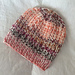 marled textures hat pattern