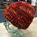 Caracol Button Hat pattern