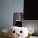 Sheep Head Cell Phone Holder pattern