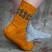 Lucky me socks pattern