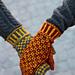 Wisby mittens pattern