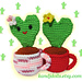 Amigurumi Heart Cactus pattern