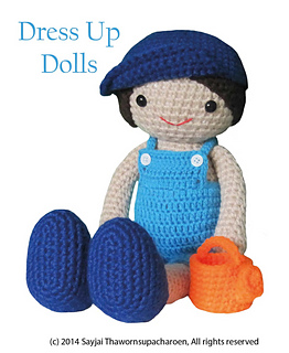 40 Crochet Doll Patterns (Clothing & Accessories) | AllFreeCrochet.com | 320x262