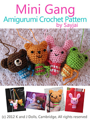 Puffy Pals Amigurumi Crochet Pattern (Easy Crochet Doll Patterns ... | 240x180