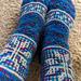 Mystery Sock XII:  Let It Snow pattern