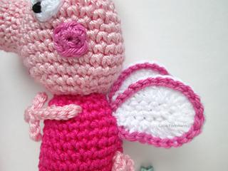 Crochet Peppa Pig Amigurumi Free Patterns | Crochet pig, Crochet ... | 240x320