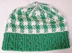 Kelley Greene Hat Design and Pattern by  Karen Vølund Fechter January 2020