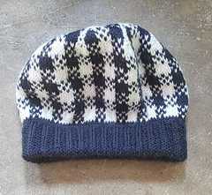 Sweet Buffalo Hat #2 design and pattern by  Karen Vølund Fechter October 2020