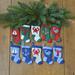 Nautical Christmas Stocking Ornaments pattern