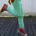 Kukkulalla housut lapselle pattern