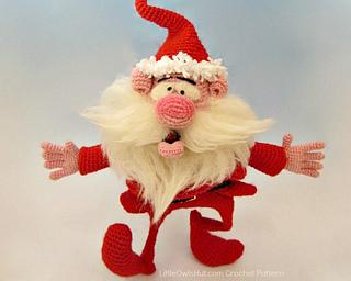Santa Claus Amigurumi Crochet Pattern | 256x320