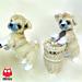 106 Shih Tzu Puppy dog pattern