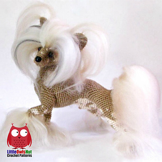 Chinese Crested Dog Pattern