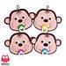 079 Baby monkey potholder pattern