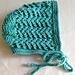 Lace Bonnet pattern