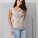 88-43 Top Cotton-Cashmere pattern