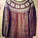 Norwegian Girl Sweater pattern