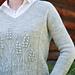 In a Field pullover pattern