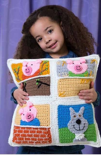 Ravelry: Three Little Pigs Pillow