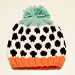 Layla Polka Dot Stranded Knit Hat pattern