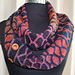 Stained Glass Infinity Scarf pattern