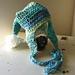 Striped Pixie Earflap Hat pattern