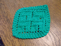 Small Dishcloth