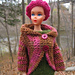Barbie Crochet Circle Jacket pattern