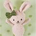 Roux the Rabbit pattern