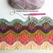Daisy Chain Blanket pattern