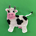 Cow Applique pattern