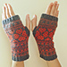 A Giving Heart Fingerless Mitts pattern