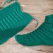 Easy Socks Two Needle pattern
