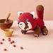 Zeda le panda roux pattern