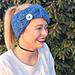 Big Button Headband pattern