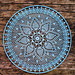Piña Mandala pattern