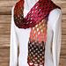 Crochet Taiyo Scarf pattern