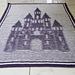 Fairy Castle Illusion Baby Blanket pattern