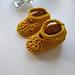 Lottie Crochet Baby Shoes pattern