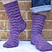 Against the Grain Socks pattern