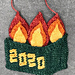 Dumpster Fire 2020 pattern