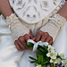Wrapped in Lace Fingerless Bridal Gloves pattern