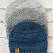 Simple Seed Stitch Beanie pattern