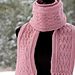 La Vie en Rose Ladies Scarf pattern