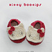 Hello Kitty Inspired Baby Booties pattern