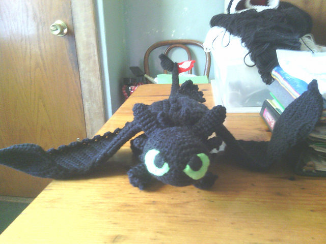 Step-By-Step Tutorial: Toothless from How To Train Your Dragon ... | 480x640